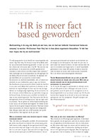 HRS interview Peter Kleij